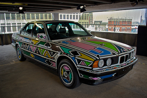 BMW First The Expression Of Joy ART Campaign Z4 And