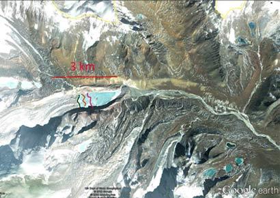 South Lhonak Glacier